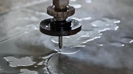 cięcie strumieniem wody
